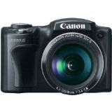 Canon PowerShot SX500 IS 16.0 MP Digital Camera with 30x Wide-Angle Optical Image Stabilized Zoom and 3.0-Inch LCD (Black) - Camerazz.com – Low Prices,Fast Free Shipping