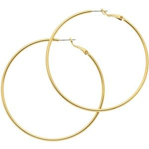 Melissa Odabash Large Hoop Earrings , Gold