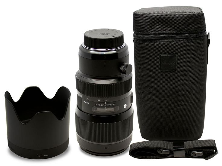Sigma 50-100mm f/1.8 DC HSM Art Lens for Canon EF #693954