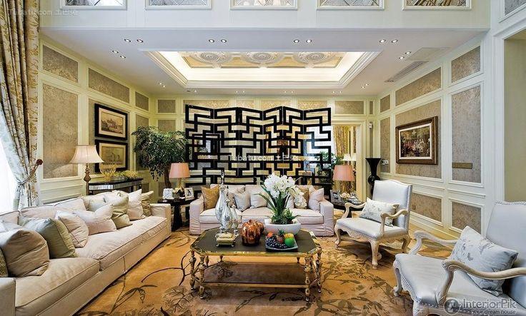 Modern European Luxury Living Room Design 2015