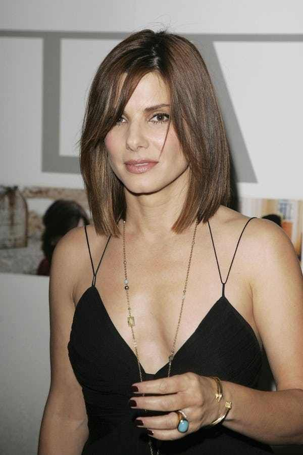 In her long, illustrious career on the big screen, Sandra Bullock has not only become one of the most recognizable faces on the big screen, but America's Sweetheart as well. Currently ranking first on best celebrity lesbian kisses, Sandra Bullock has also dated many hot celebs. The Oscar-winn...