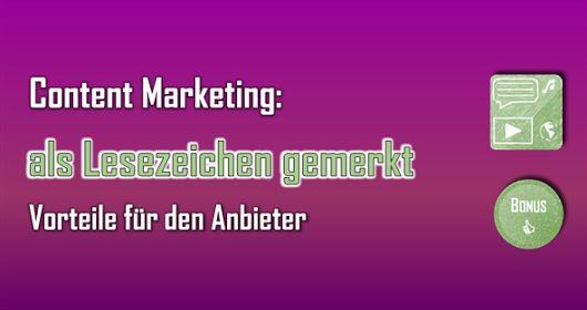 Wenn Interessenten sich Inhalte als Lesezeichen merken, hat das für Unternehmen zahlreiche Vorteile. #Abonnent #Besucher #bitly #Browser #Content #Erfolg #Kunde #Lesezeichen #Marketing #PDF #Pocket #SocialMedia #Werbung