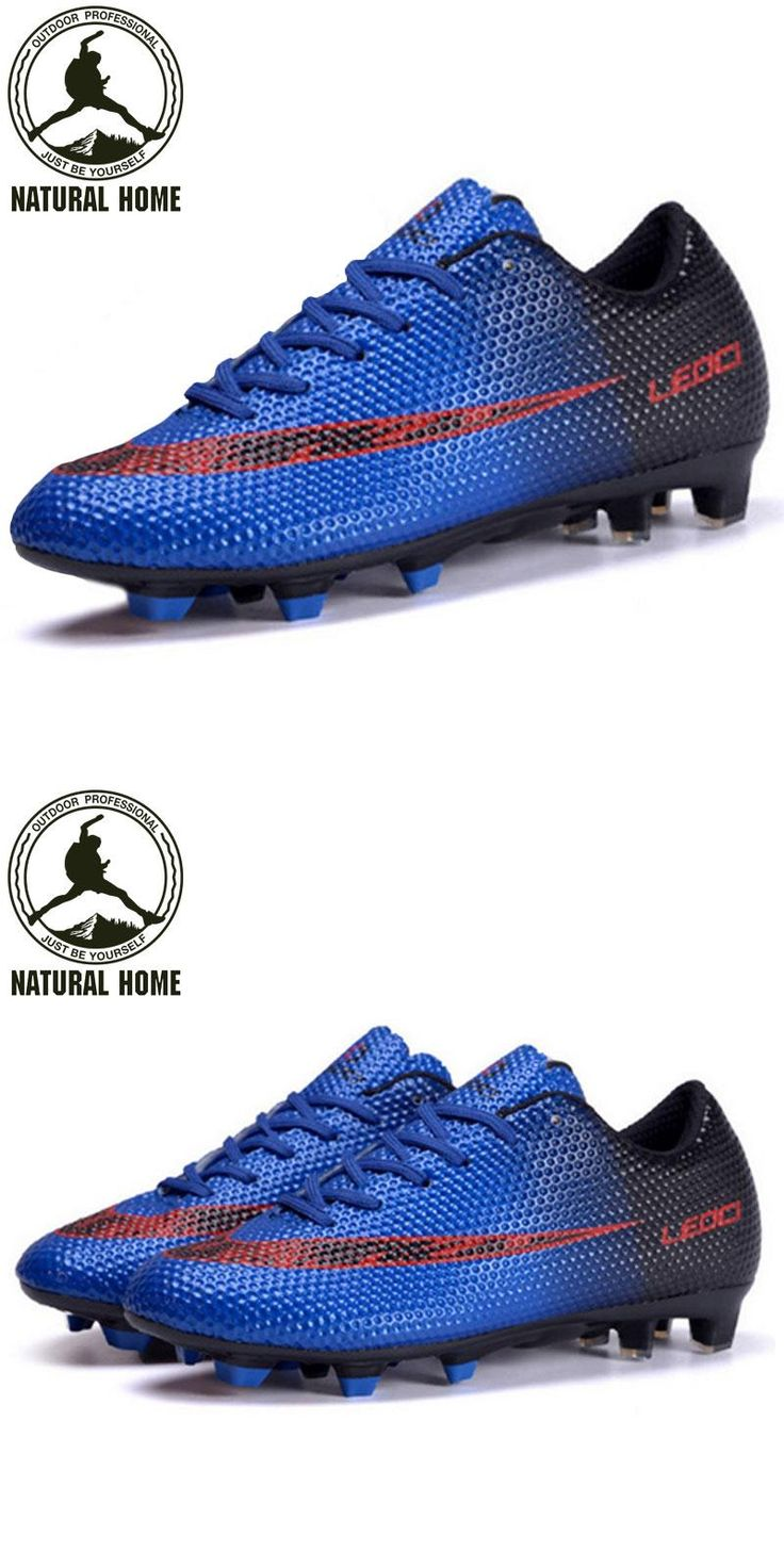 [Visit to Buy] NaturalHome 2017 Soccer Shoes for Men Football Boots Soccer Cleats Outdoor Sneakers Botines Zapatos de Futbol Football #Advertisement