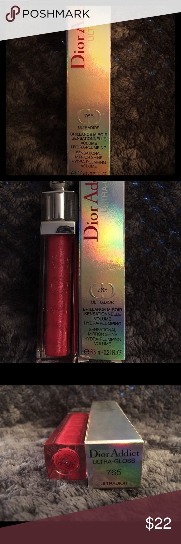 Dior Addict Ultra Gloss Dior Addict Ultra Gloss 765 new with tags Dior Makeup Lip Balm & Gloss