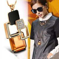 Vintage fashion magic space long necklace for women