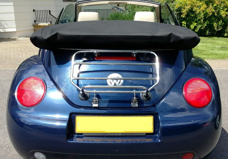 The Classic Hex Luggage Carrier for the VW Beetle Convertible