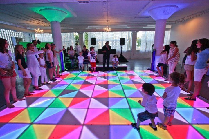 Kids Party Light Up Dance Floor Dance Party 10