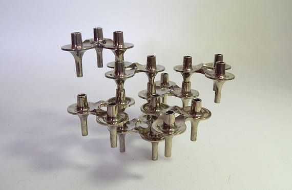 7 Modular Stoffi / Nagel Design Candleholders Orion Series