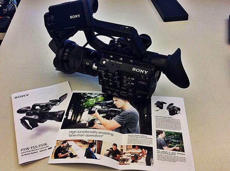 Sony PXW-FS5 in uscita a dicembre da Adcom Bologna