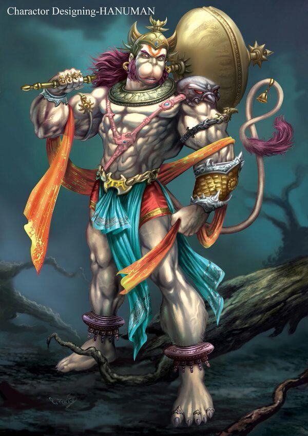 Muscular Hanuman
