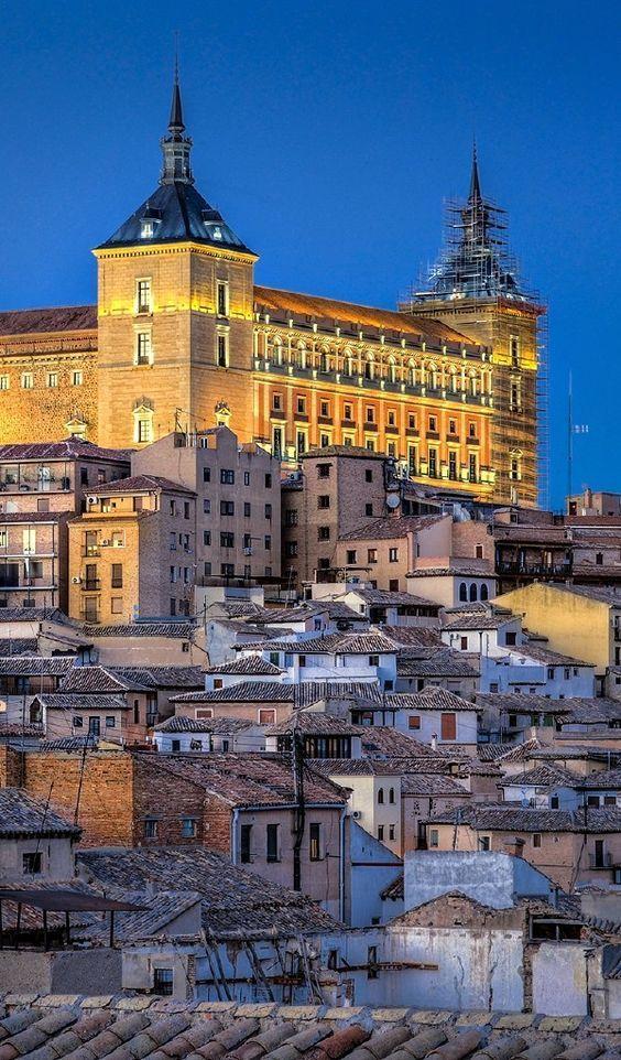 Alcazar, Toledo, Spain.