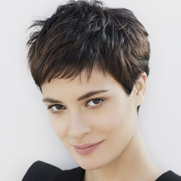 30 Short Spiky Hairstyles That Ll Stun You Checopie In 2020 Short Hairstyles For Thick Hair Thick Hair Styles Thick Wavy Hair