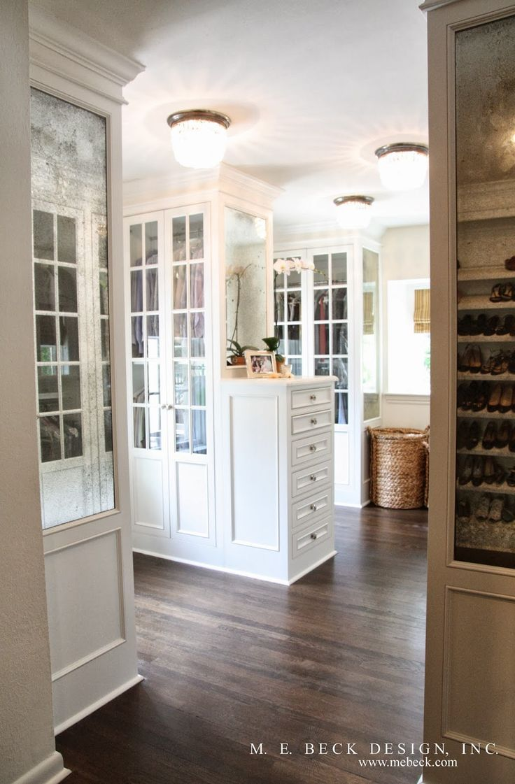 Live Beautifully 1920 S Renovation The Master Closet