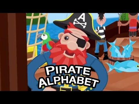 ABC Song - The Pirate Alphabet - Babies Kids & other types of Children learn ABCs from Pirates - YouTube