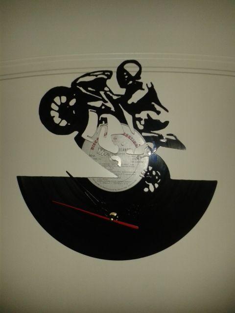 28 best images about reloj en disco de vinilo on pinterest - Reloj vinilo pared ...