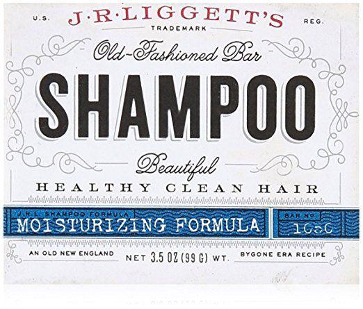J.R. Liggetts Bar Shampoo, Damaged Hair, 3.5 Oz