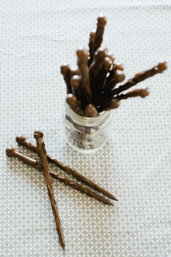 make your own harry potter wand pencils - kim orlandini