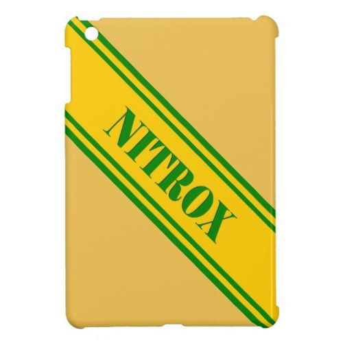 NITROX DIVING LOGO NITROX SCUBA DIVER - iPad MINI CASES