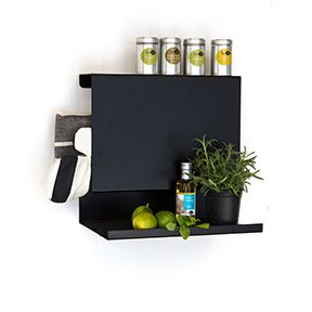 Big:ledge the ideal solution for your spices, cookbook or what ever you prefer.