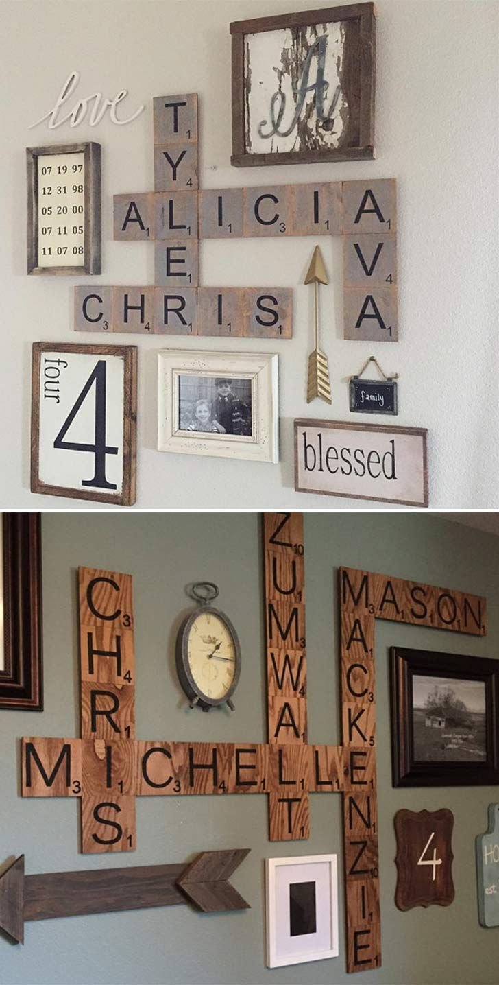 25 Best Ideas About Scrabble Wall Art On Pinterest