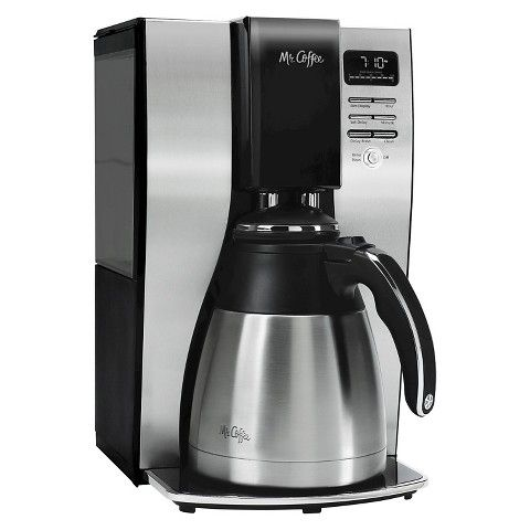 Mr. Coffee Thermal Coffee Maker - Silver (Model: Mr. Coffee BVMC-PSTX91 Optimal Brew 10-Cup Thermal Coffeemaker)