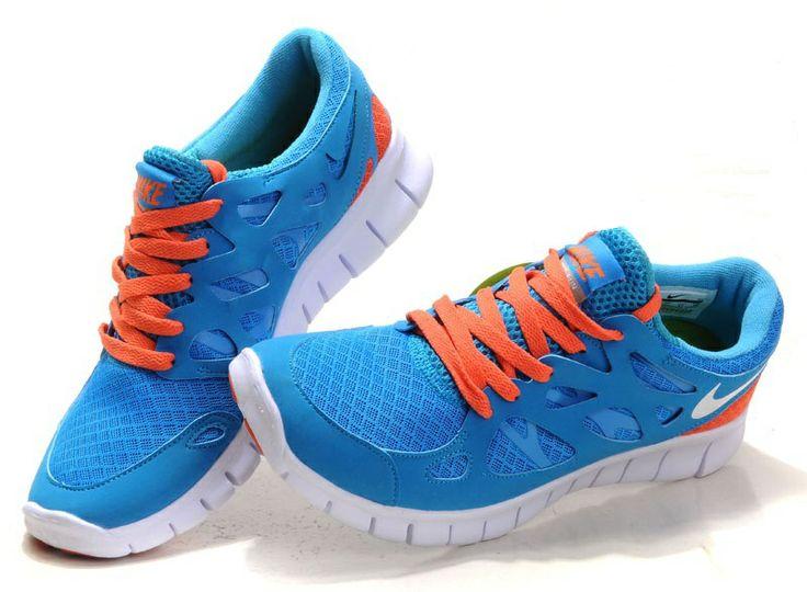 Nike Free Best Deals Run 2 Shoes Blue Dark Blue