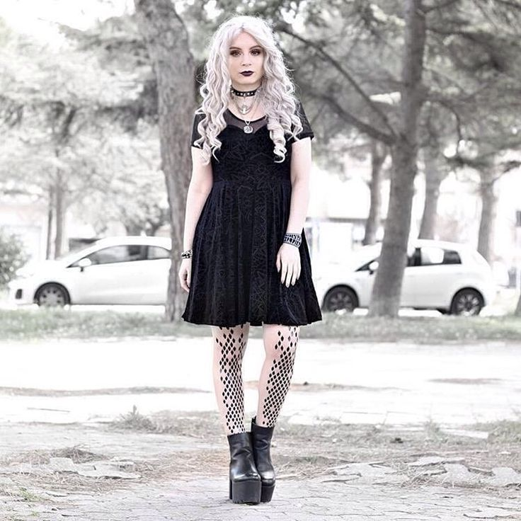 """""""We love  all your outfits Federica! @vanillasyndrome Beautiful! This one is with our dragon tights """""""