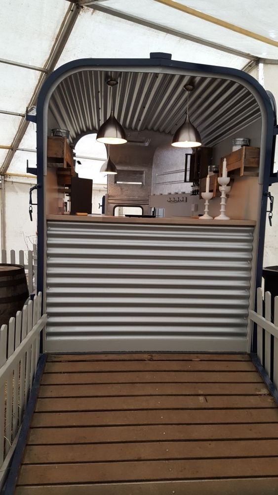 CATERING TRAILER / MOBILE BAR - CONVERTED RICE HORSE TRAILER                                                                                                                                                                                 More