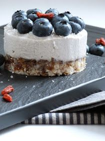 My Sugar Is Raw: Raw Vegan Cheesecake - Cheesecake Vegana Crudista