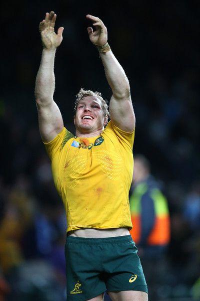David Pocock Photos - Argentina v Australia - Semi Final: Rugby World Cup 2015 -http://footyboys.com