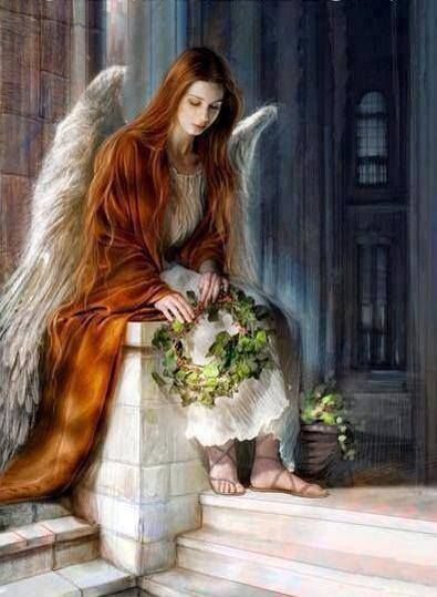 O my most beautiful spirit Angel has appeared! Thankyou. X.