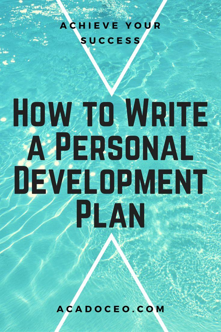 1000 ideas about Personal Development Plan Template – Free Personal Development Plan Template