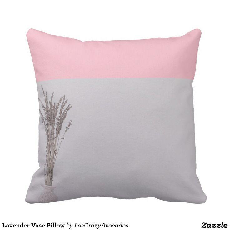 Lavender Vase Pillow