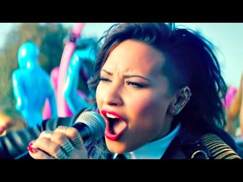 Get the look : Demi Lovato Really don't care (ft. Cher Lloyd) Make up (t...