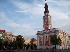 Leszno Town Hall & square