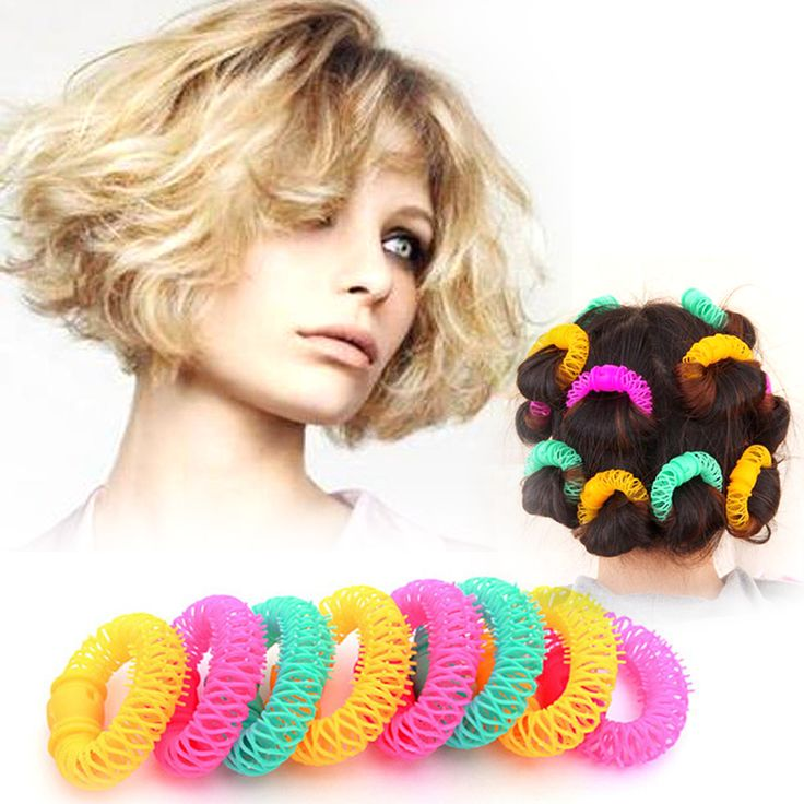 1Bag Magic Hair Curler Roller Hair Curling Style Products Hair Style Tools Home and Salon Hair Braider RP1-5