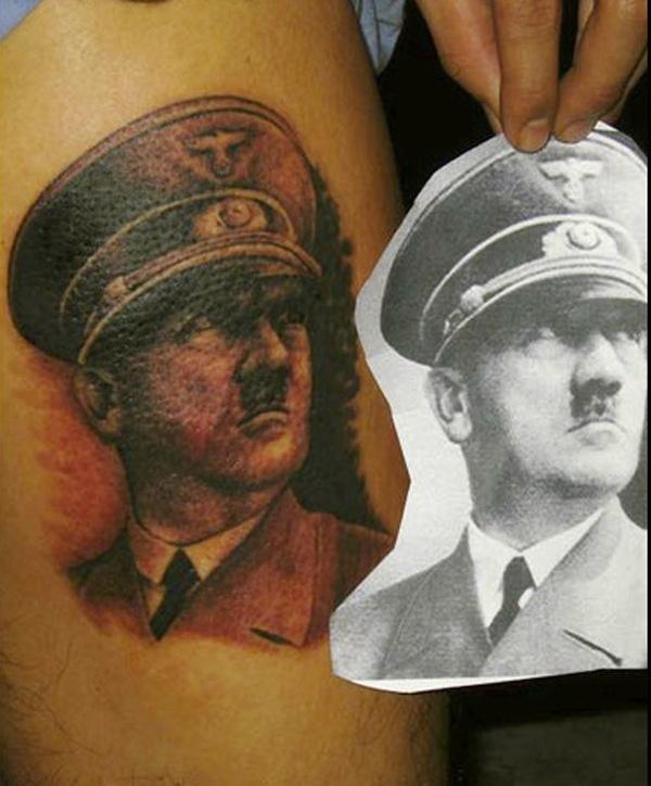 Tatuagens de retratos que ficaram horríveis