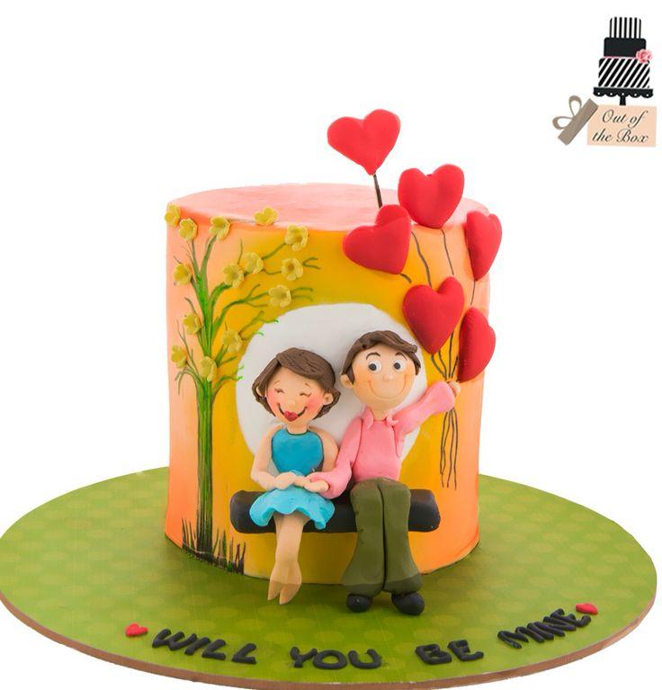 Proposal cake