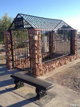 El Paso, TX - Grave of Wild West's No. 1 Killer