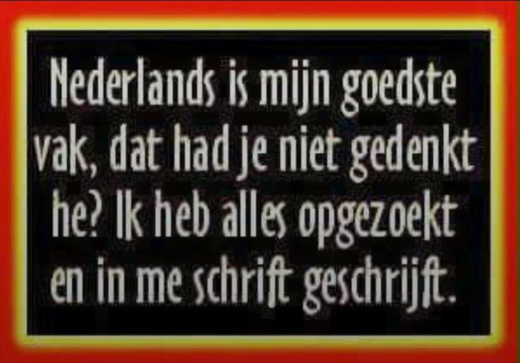 Nederlandse taal.