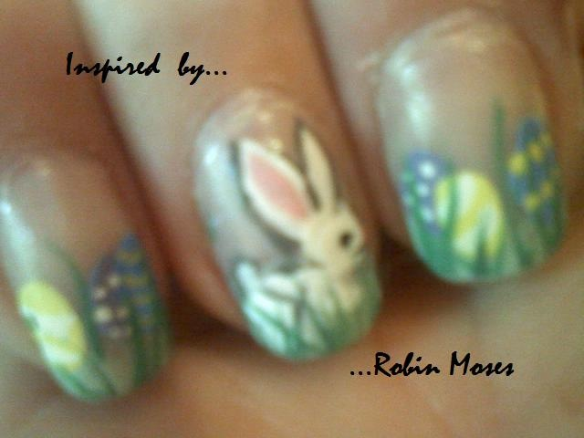 Check out Robin's nail art...she does a TUTORIAL for all her designs...step by step so you can too!