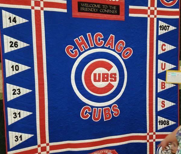 16 best Chicago Cubs quilts images on Pinterest | Chicago cubs ... : quilt show chicago - Adamdwight.com