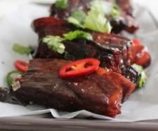 Sticky apple pork ribs | Official Thermomix Recipe Community