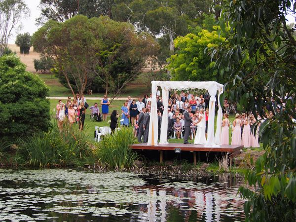 Outdoor wedding venue Geelong