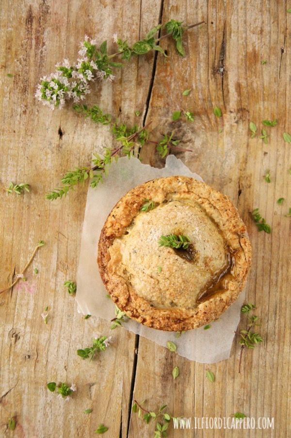 Irresistibili mini pie con ripieno di mele, timo, zenzero e cannella - il fior di cappero