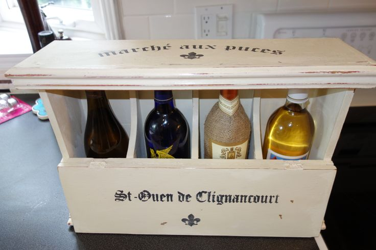 found wine box...at least it is now...
