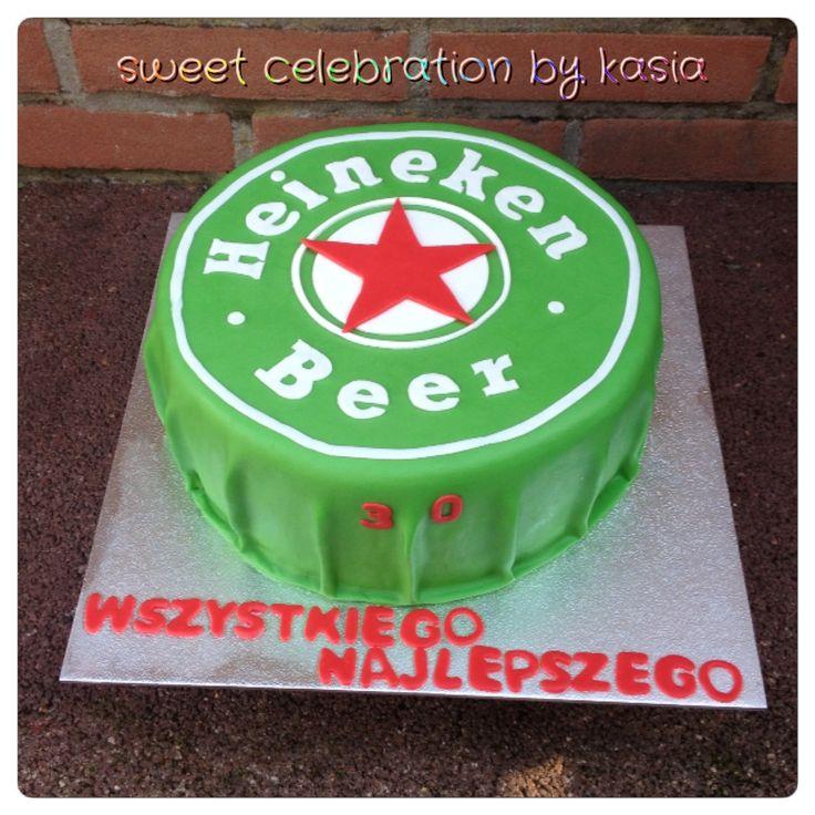 Heineken cake Sweet Celebration