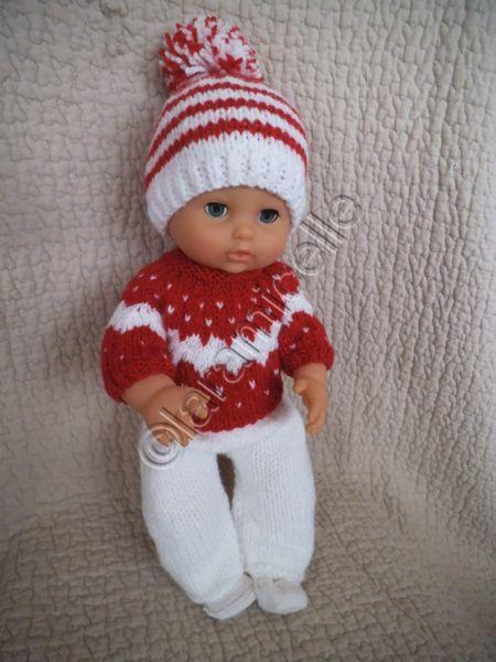 Tuto gratuit poup e bonnet pompon pour poupon laramicelle tricot pinterest chapeaux - Tuto tricot debutant gratuit ...