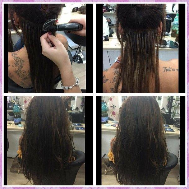 Extension: bronde colore inegrazione e lunghezza in una sola seduta!  NUOVETENDENZE hairstyles <3