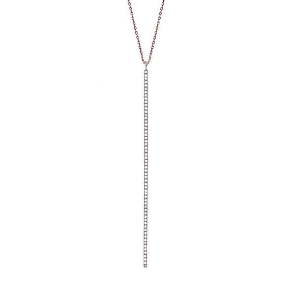 Long Bar Necklace